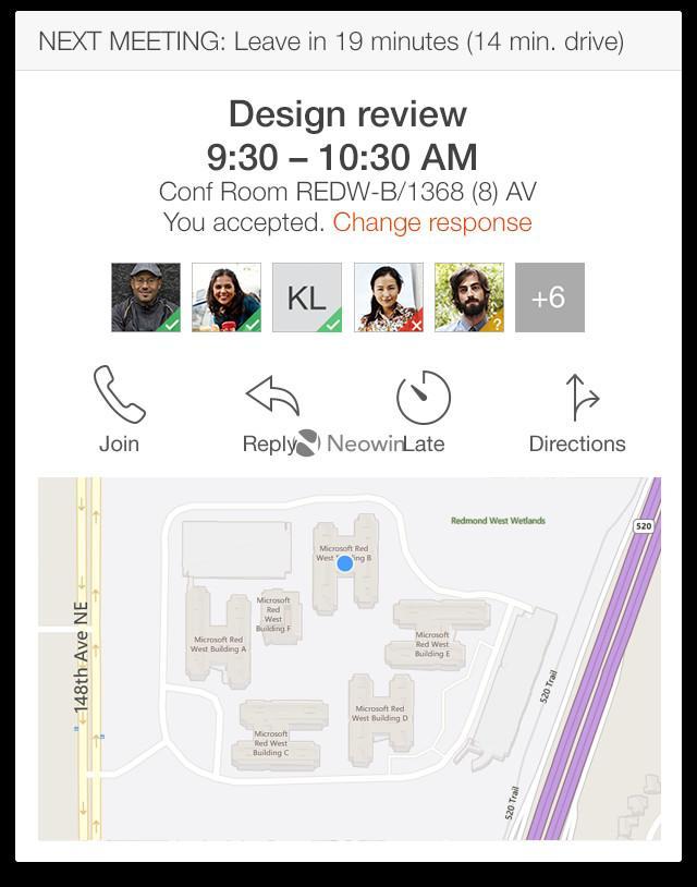 office now app meetings