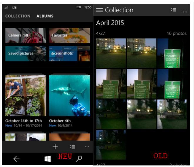 photos app windows 10 beta mobile