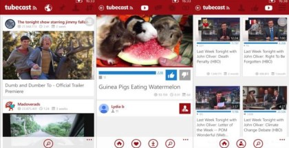 Tubecast for winows phone - client for youtube