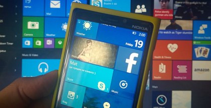 Windows 10 Mobile cover