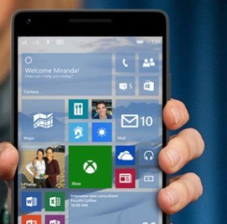 Windows 10 for mobile devices phones