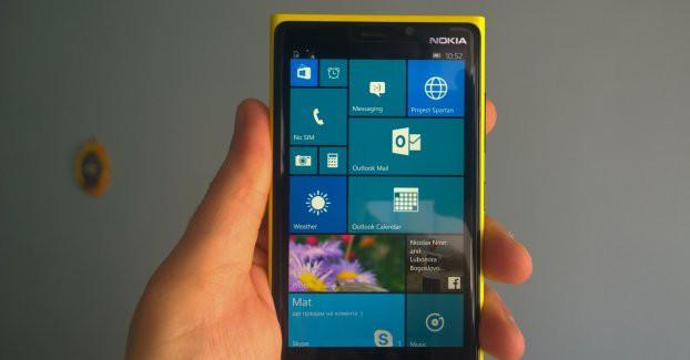 Nokia lumia 920 windows 10