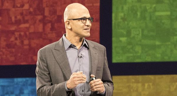 """Microsoft's CEO: """"We don't want to build a copycat phone operating system"""""""