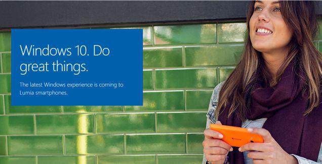 WIndows 10 Mobile promo update