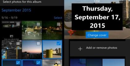 Windows 10 Photos albums