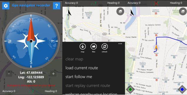 GPS Navigator Recorder