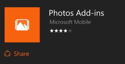 Photos add-ins logo