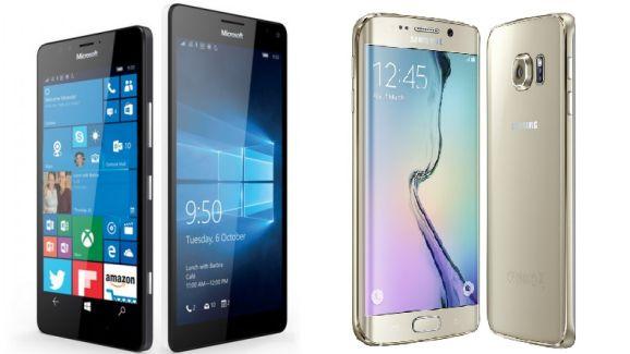Lumia 950 vs Galaxy S6 Edge