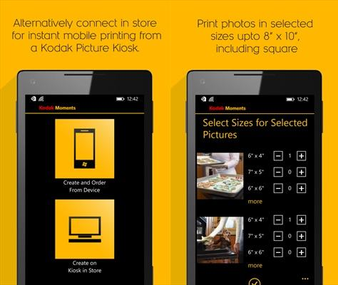 My Kodak Moments app now available for Windows Phone