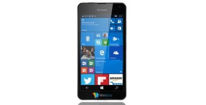 lumia 650 front render