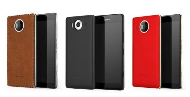mozo accesories back lumia 950 xl