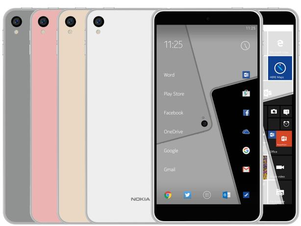 Nokia C1 Windows and Android