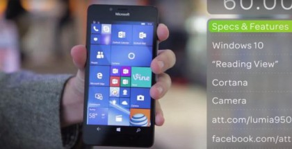 att microsoft lumia 950