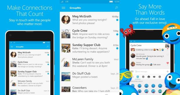 GroupMe app for Windows 10