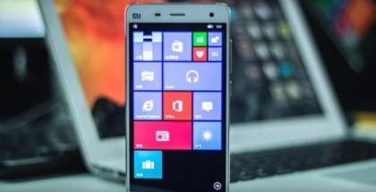 Xiaomi Mi 4 windows 10 mobile