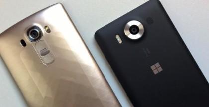 lg g4 vs lumia 950