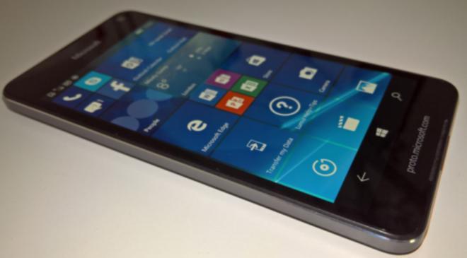 Microsoft Lumia 650 Proto
