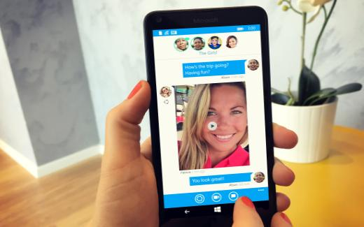 Mobile chat and dating