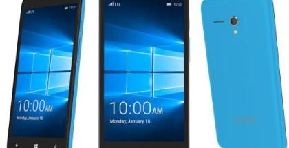 OneTouch Alcatel Windows 10 Mobile