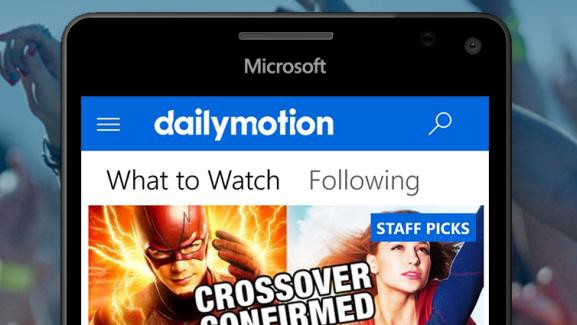 Dailymotion app released for Windows 10 Mobile