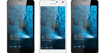 Lumia 650 white and black