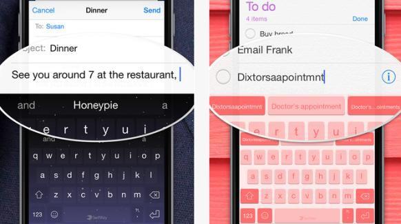 SwiftKey app for iOS