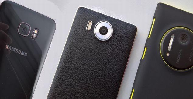 Camera test galaxy s7 vs Lumia 1020 950