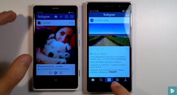 Instagram Windows 10 Beta