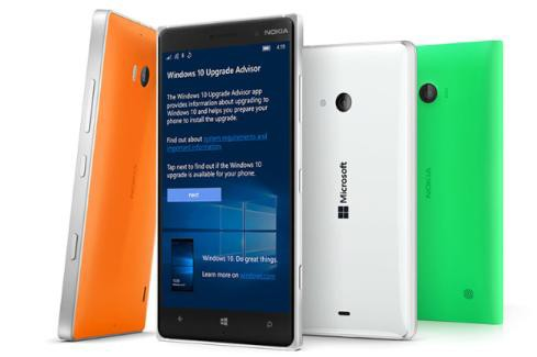 Windows 10 Mobile update Lumia 930 735 730