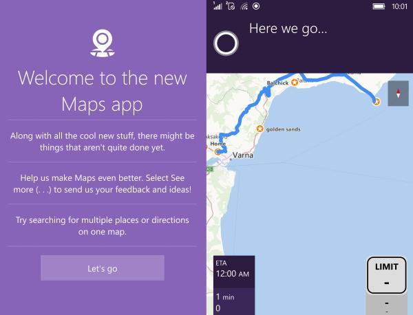 Windows Maps Redstone New app