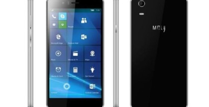 Moly W5 Windows 10 Mobile