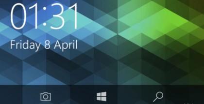 Camera button quick windows 10 mobile lock screen