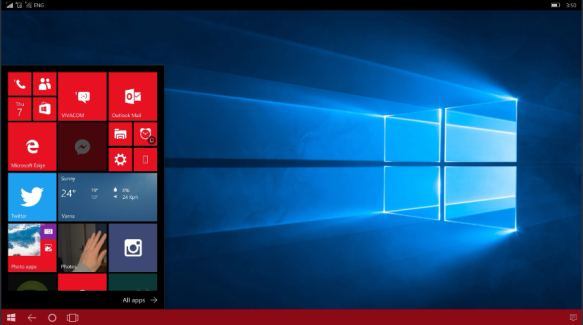 How to connect a Continuum-enabled phone to a Windows 10 PC