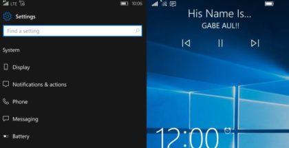 lock screen 14322 windows 10 mobile