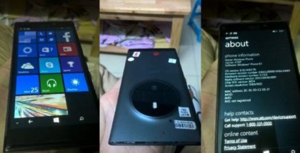 Nokia Microsoft McLaren Lumia 1040 1030 1020