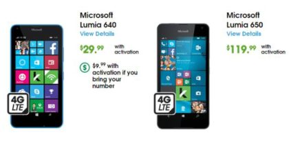 Cricket Lumia 650
