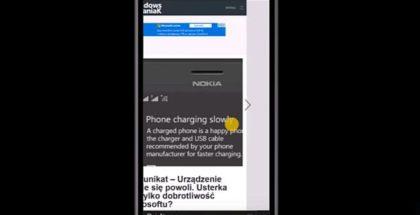 Edge browser swipe gestures windows 10 mobile