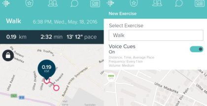 Fitbit maps