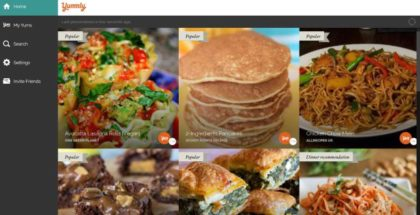 Yummly app for Windows 10