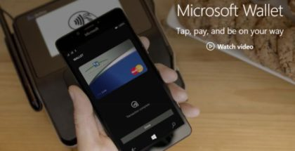 Microsoft Wallet NFC Tap to Pay