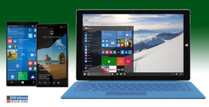 Windows 10 Mobile and PC Desktop