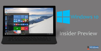 Windows 10 PC Insider Preview