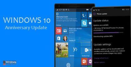 Anniversary Update 2016 Windows 10