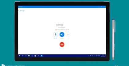 Messenger video audio