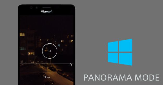 Windows Camera Panorama Mode