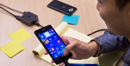 Display Dock lumia continuum windows 10 mobile