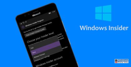 Windows Insider Program Fast Slow