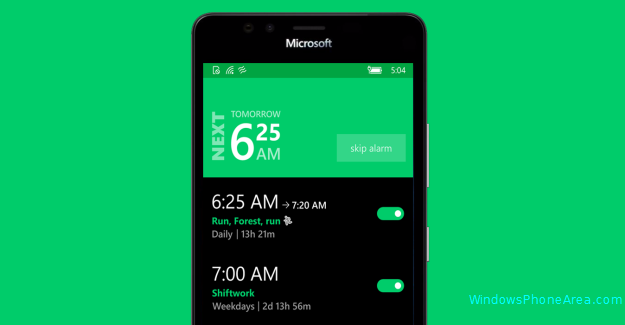realarm app windows 10 mobile
