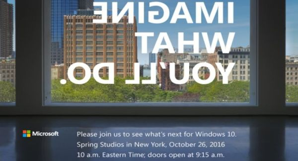 Microsoft event on October 26: What's next for Windows 10?