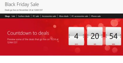 Black friday deals windows phone